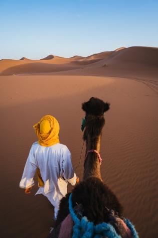 Палитрите на Мароко и пустинята Сахара