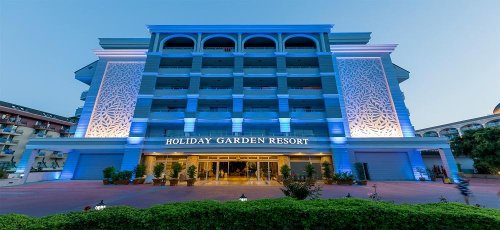 HOLIDAY GARDEN HOTEL 4+*