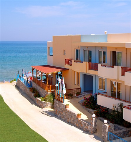 Почивка в DANAOS BEACH APARTMENTS 2+*
