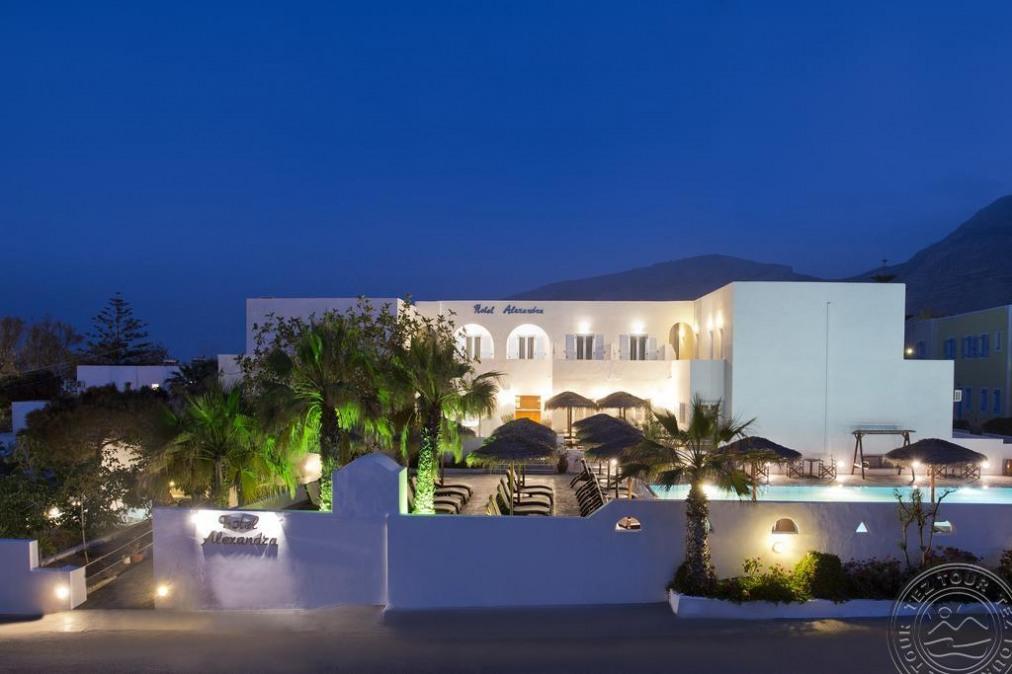 Почивка в ALEXANDRA HOTEL SANTORINI 3*